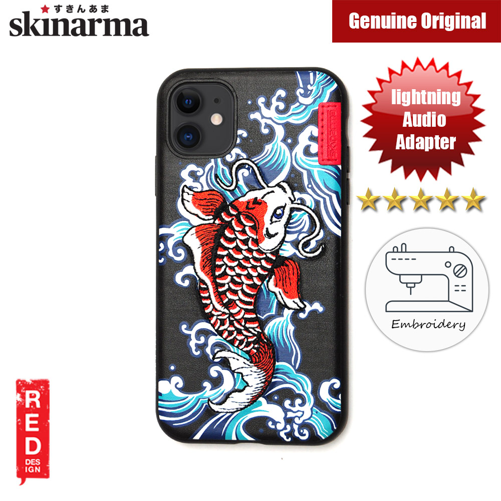 Picture of Skinarma Embroidery Designer Protection Case for Apple iPhone 11 6.1 (Showa Blue) Apple iPhone 11 6.1- Apple iPhone 11 6.1 Cases, Apple iPhone 11 6.1 Covers, iPad Cases and a wide selection of Apple iPhone 11 6.1 Accessories in Malaysia, Sabah, Sarawak and Singapore
