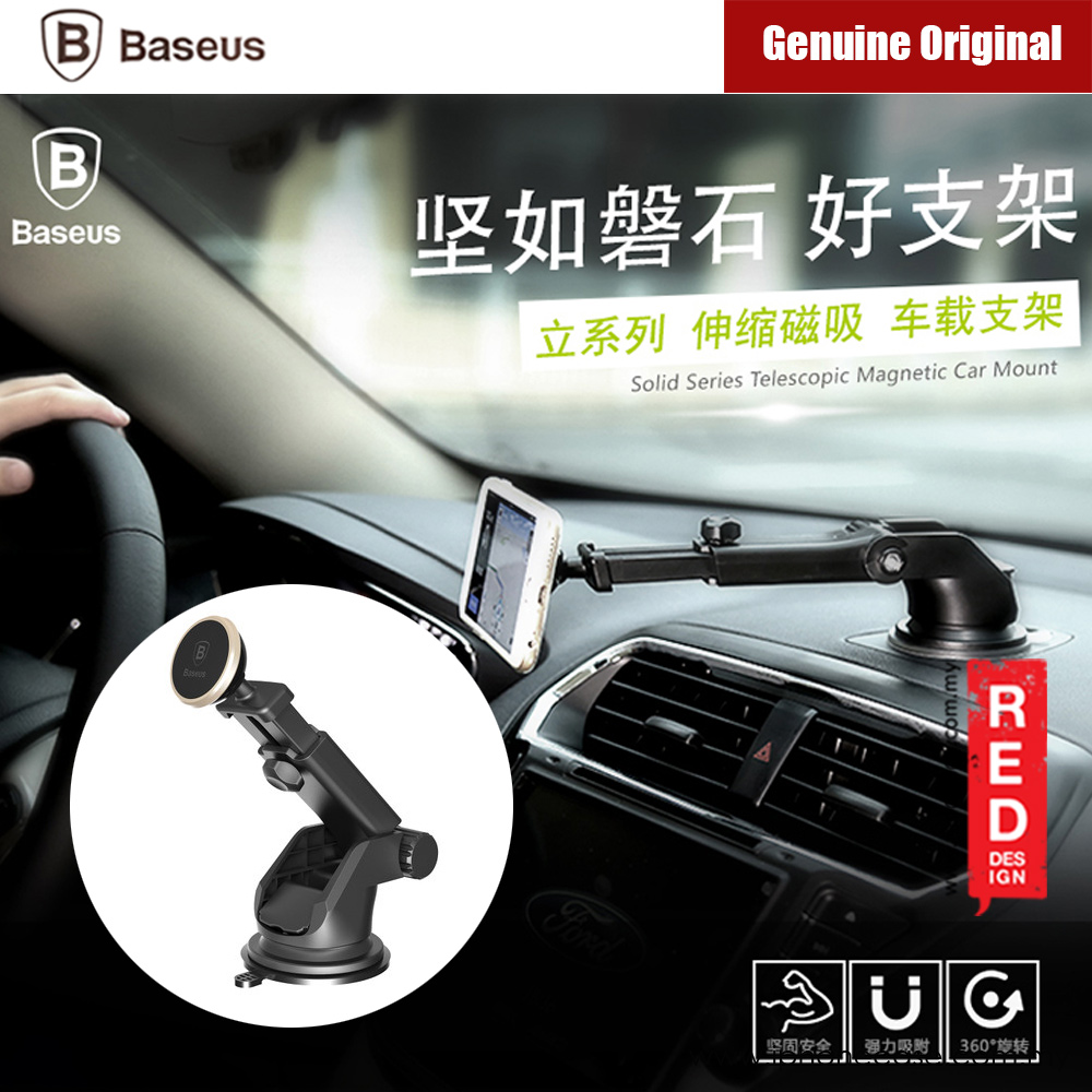 Picture of Baseus Mechnical Era Magnetic Car Mount (Gold) Red Design- Red Design Cases, Red Design Covers, iPad Cases and a wide selection of Red Design Accessories in Malaysia, Sabah, Sarawak and Singapore