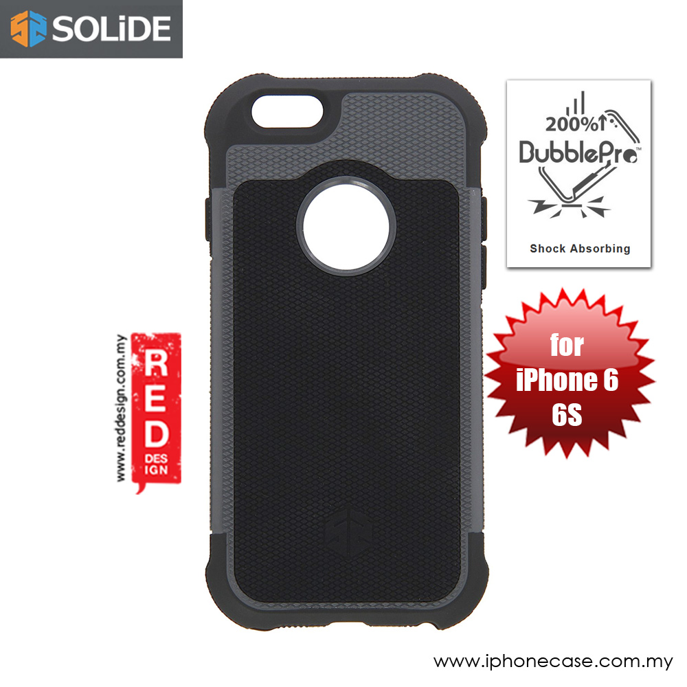 Picture of SOLiDE ZEUS Drop Proof Case for Apple iPhone 6 iPhone 6S 4.7  (Black) Apple iPhone 6 4.7- Apple iPhone 6 4.7 Cases, Apple iPhone 6 4.7 Covers, iPad Cases and a wide selection of Apple iPhone 6 4.7 Accessories in Malaysia, Sabah, Sarawak and Singapore