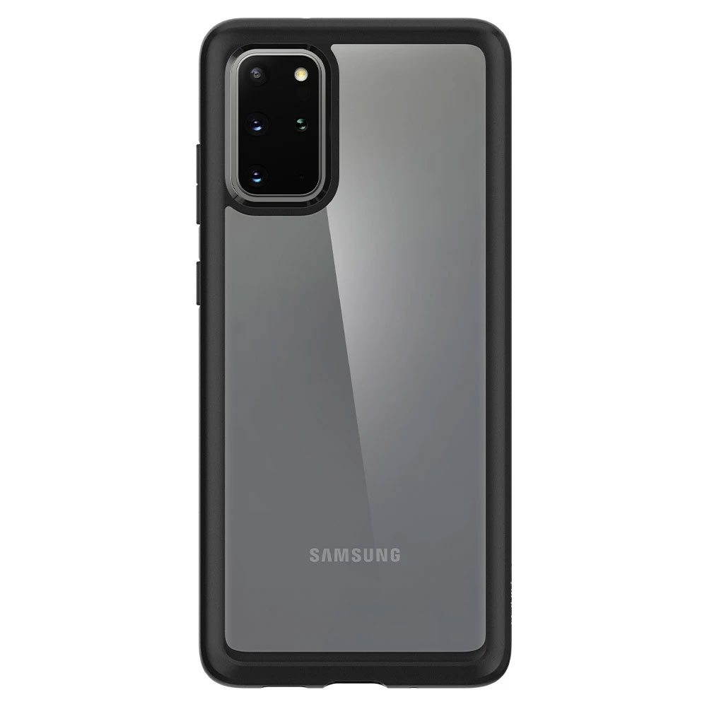 Picture of Samsung Galaxy S20 Plus 6.7 Case | Spigen Ultra Hybrid Drop Protection Case for Samsusng Galaxy S20 Plus 6.7 (Matte Black)
