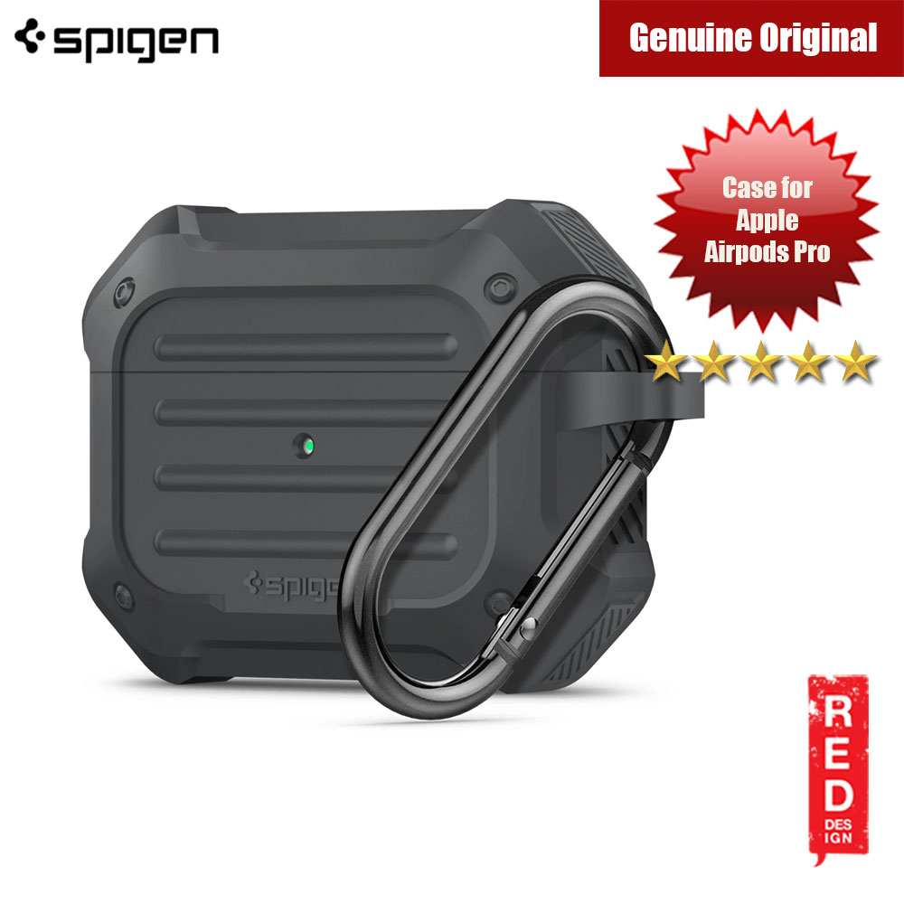 Picture of Spigen Apple AirPods Pro Case Tough Armor for Airpods Pro (Charcoal) Apple Airpods Pro- Apple Airpods Pro Cases, Apple Airpods Pro Covers, iPad Cases and a wide selection of Apple Airpods Pro Accessories in Malaysia, Sabah, Sarawak and Singapore