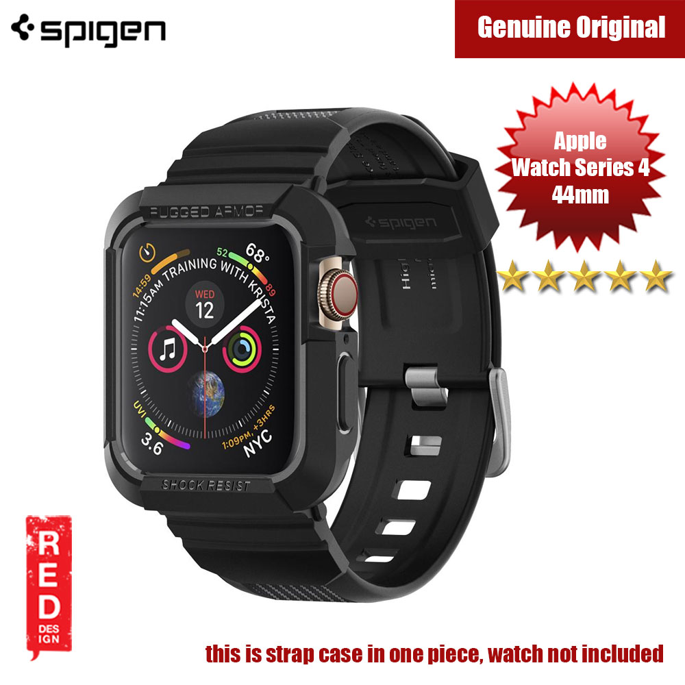 Picture of Spigen Rugged Armor Pro Strap Case for Apple Watch Series 4 (44mm) Apple Watch 44mm- Apple Watch 44mm Cases, Apple Watch 44mm Covers, iPad Cases and a wide selection of Apple Watch 44mm Accessories in Malaysia, Sabah, Sarawak and Singapore