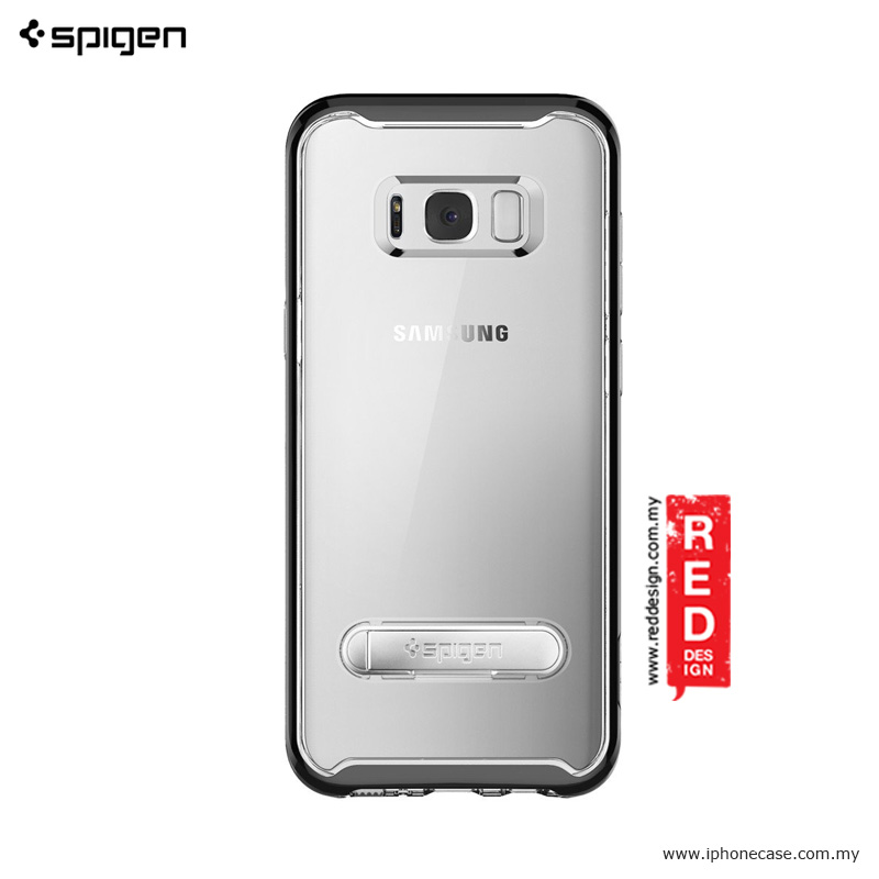 Picture of Samsung Galaxy S8  | Spigen Crystal Hybrid for Samsung Galaxy S8 - Black
