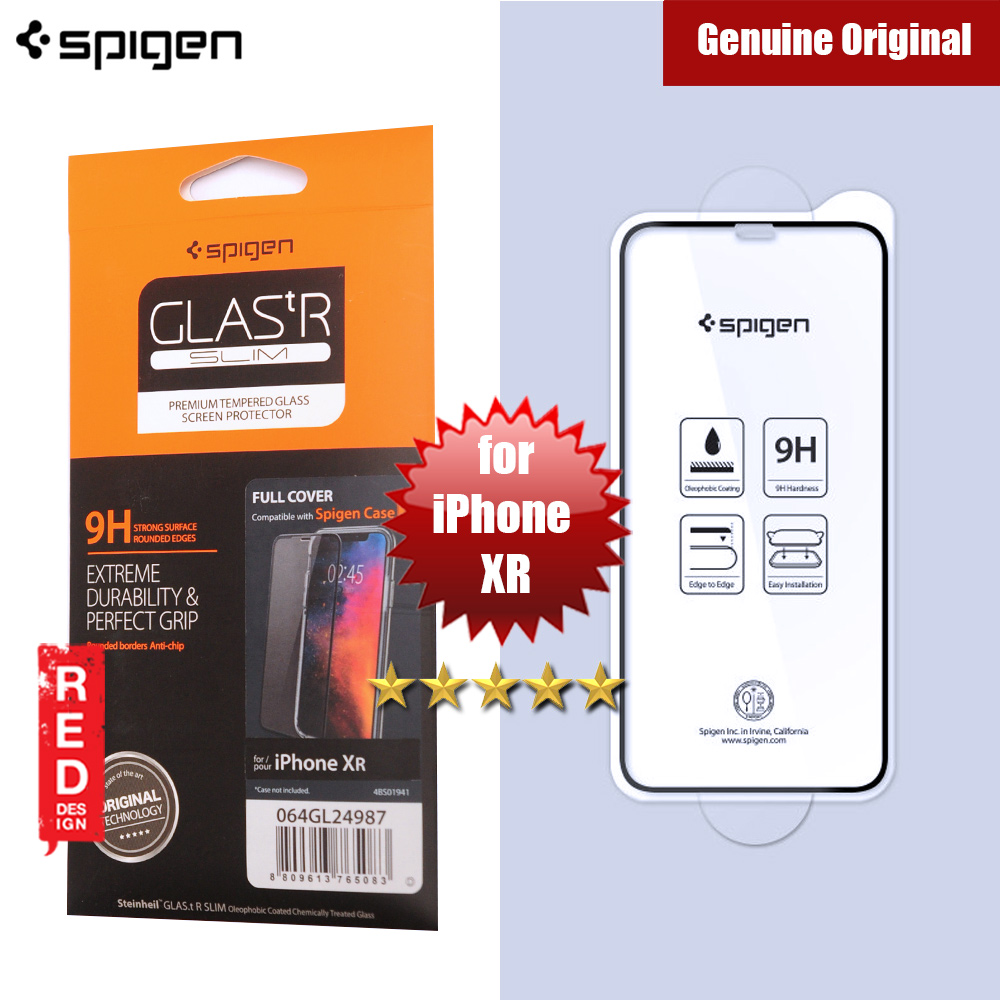 Picture of Spigen Screen Protector Tempered Glass Full Cover for Apple iPhone XR (Black) Apple iPhone XR- Apple iPhone XR Cases, Apple iPhone XR Covers, iPad Cases and a wide selection of Apple iPhone XR Accessories in Malaysia, Sabah, Sarawak and Singapore
