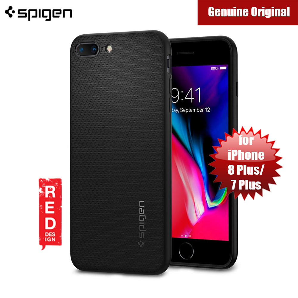 Picture of Spigen Liquid Air Armor Case for Apple iPhone 7 Plus iPhone 8 Plus 5.5 (Black) Apple iPhone 7 Plus 5.5- Apple iPhone 7 Plus 5.5 Cases, Apple iPhone 7 Plus 5.5 Covers, iPad Cases and a wide selection of Apple iPhone 7 Plus 5.5 Accessories in Malaysia, Sabah, Sarawak and Singapore
