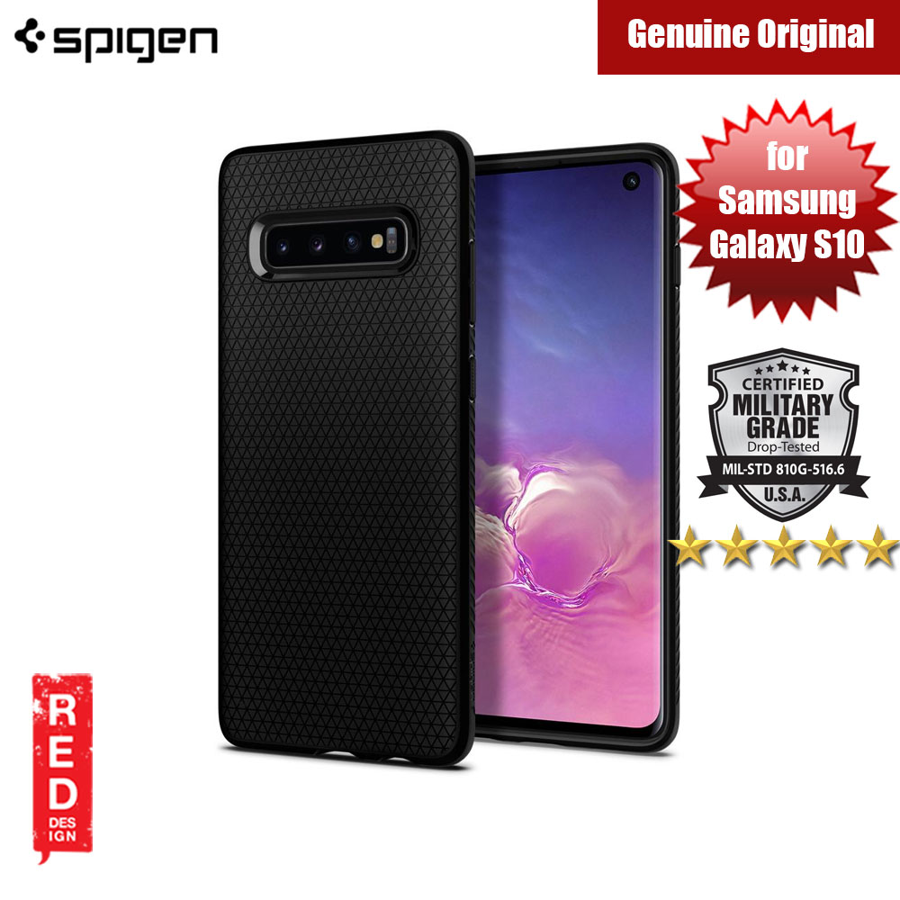 Picture of Spigen Liquid Air Protection Case for Samsung Galaxy S10 (Black) Samsung Galaxy S10- Samsung Galaxy S10 Cases, Samsung Galaxy S10 Covers, iPad Cases and a wide selection of Samsung Galaxy S10 Accessories in Malaysia, Sabah, Sarawak and Singapore
