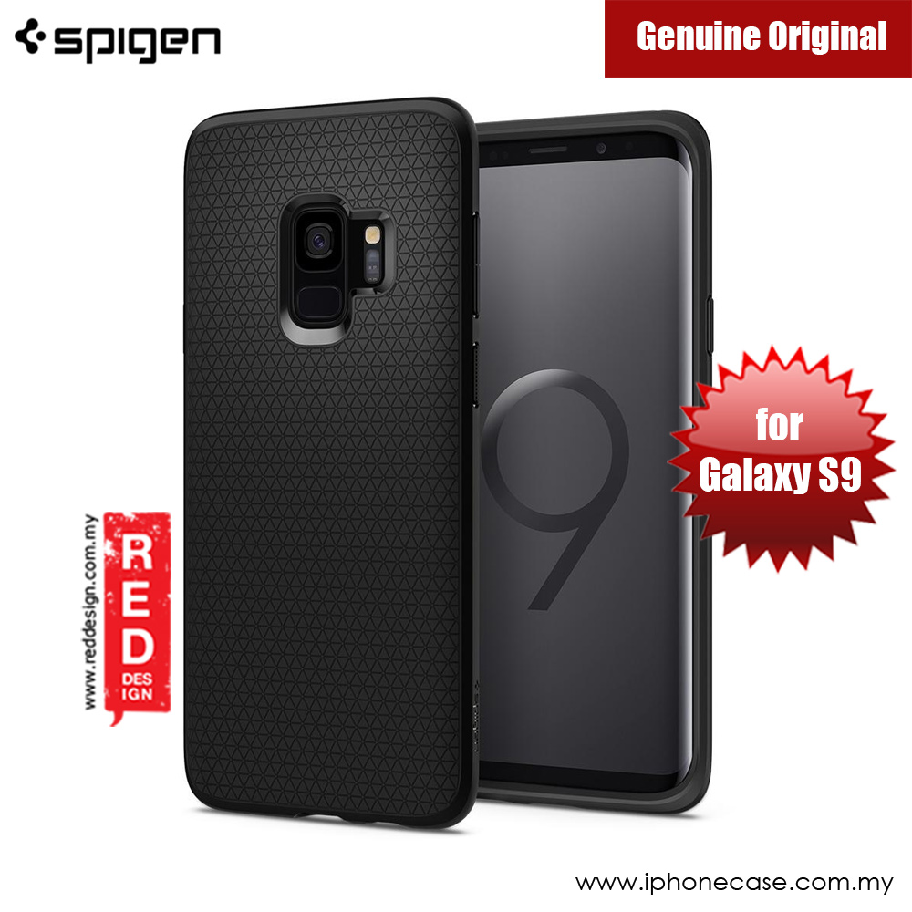 Picture of Spigen Liquid Air Protection Case for Samsung Galaxy S9 (Black) Samsung Galaxy S9- Samsung Galaxy S9 Cases, Samsung Galaxy S9 Covers, iPad Cases and a wide selection of Samsung Galaxy S9 Accessories in Malaysia, Sabah, Sarawak and Singapore