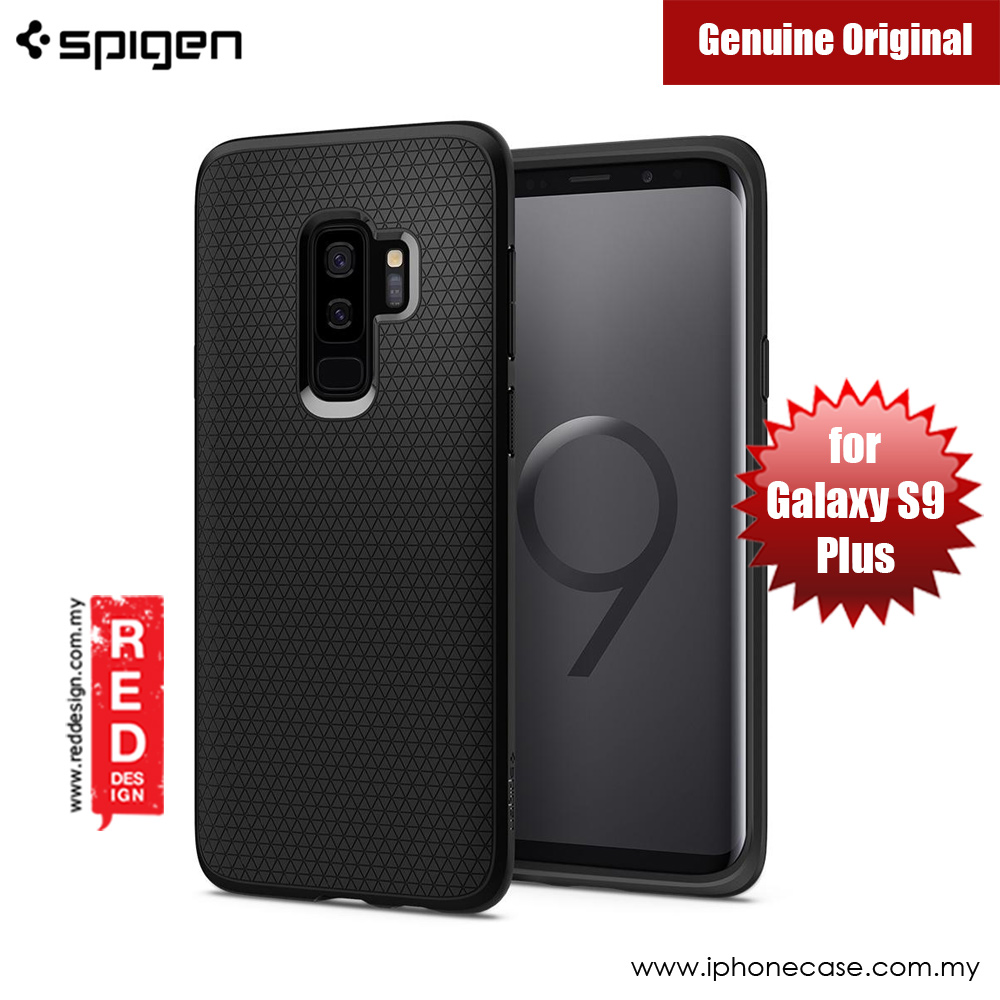 Picture of Spigen Liquid Air Protection Case for Samsung Galaxy S9 Plus (Black) Samsung Galaxy S9 Plus- Samsung Galaxy S9 Plus Cases, Samsung Galaxy S9 Plus Covers, iPad Cases and a wide selection of Samsung Galaxy S9 Plus Accessories in Malaysia, Sabah, Sarawak and Singapore