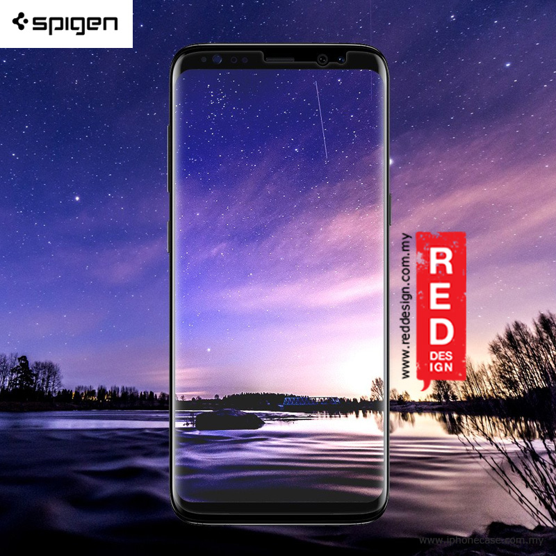 Picture of Samsung Galaxy S8 Screen Protector | Spigen Neo Flex HD Screen Protector for Samsung Galaxy S8 - 2 Pack