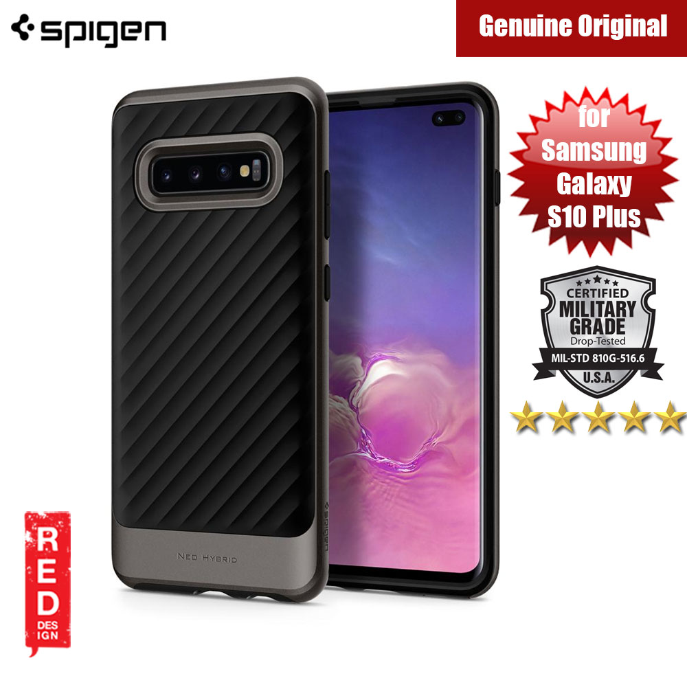 Picture of Spigen Neo Hybrid Protection Case for Samsung Galaxy S10 Plus (Gunmetal) Samsung Galaxy S10 Plus- Samsung Galaxy S10 Plus Cases, Samsung Galaxy S10 Plus Covers, iPad Cases and a wide selection of Samsung Galaxy S10 Plus Accessories in Malaysia, Sabah, Sarawak and Singapore