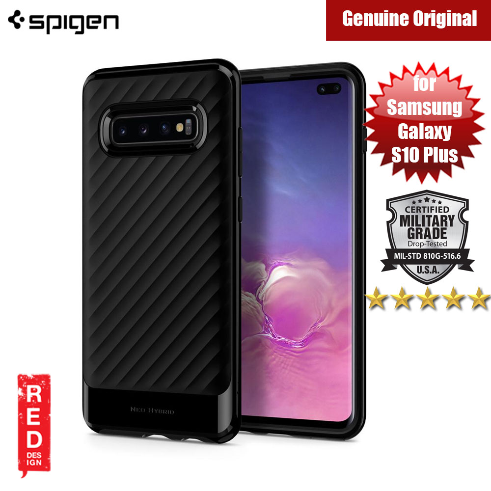 Picture of Spigen Neo Hybrid Protection Case for Samsung Galaxy S10 Plus (Midnight Black) Samsung Galaxy S10 Plus- Samsung Galaxy S10 Plus Cases, Samsung Galaxy S10 Plus Covers, iPad Cases and a wide selection of Samsung Galaxy S10 Plus Accessories in Malaysia, Sabah, Sarawak and Singapore
