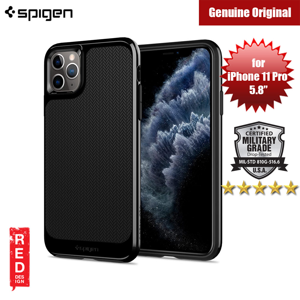 Picture of Spigen Neo Hybrid Drop Protection Case for Apple iPhone 11 Pro 5.8 (Jet Black) Apple iPhone 11 Pro 5.8- Apple iPhone 11 Pro 5.8 Cases, Apple iPhone 11 Pro 5.8 Covers, iPad Cases and a wide selection of Apple iPhone 11 Pro 5.8 Accessories in Malaysia, Sabah, Sarawak and Singapore