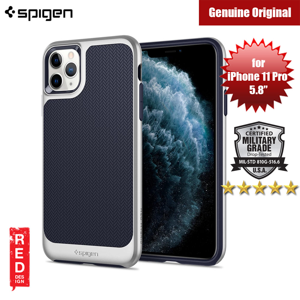 Picture of Spigen Neo Hybrid Drop Protection Case for Apple iPhone 11 Pro 5.8 (Satin Silver) Apple iPhone 11 Pro 5.8- Apple iPhone 11 Pro 5.8 Cases, Apple iPhone 11 Pro 5.8 Covers, iPad Cases and a wide selection of Apple iPhone 11 Pro 5.8 Accessories in Malaysia, Sabah, Sarawak and Singapore