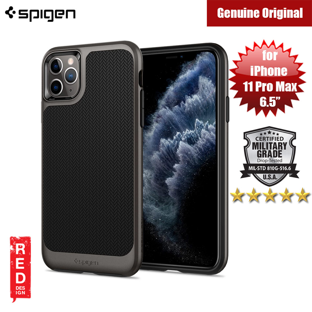 Picture of Spigen Neo Hybrid Drop Protection Case for Apple iPhone 11 Pro Max 6.5 (Gunmetal) Apple iPhone 11 Pro Max 6.5- Apple iPhone 11 Pro Max 6.5 Cases, Apple iPhone 11 Pro Max 6.5 Covers, iPad Cases and a wide selection of Apple iPhone 11 Pro Max 6.5 Accessories in Malaysia, Sabah, Sarawak and Singapore