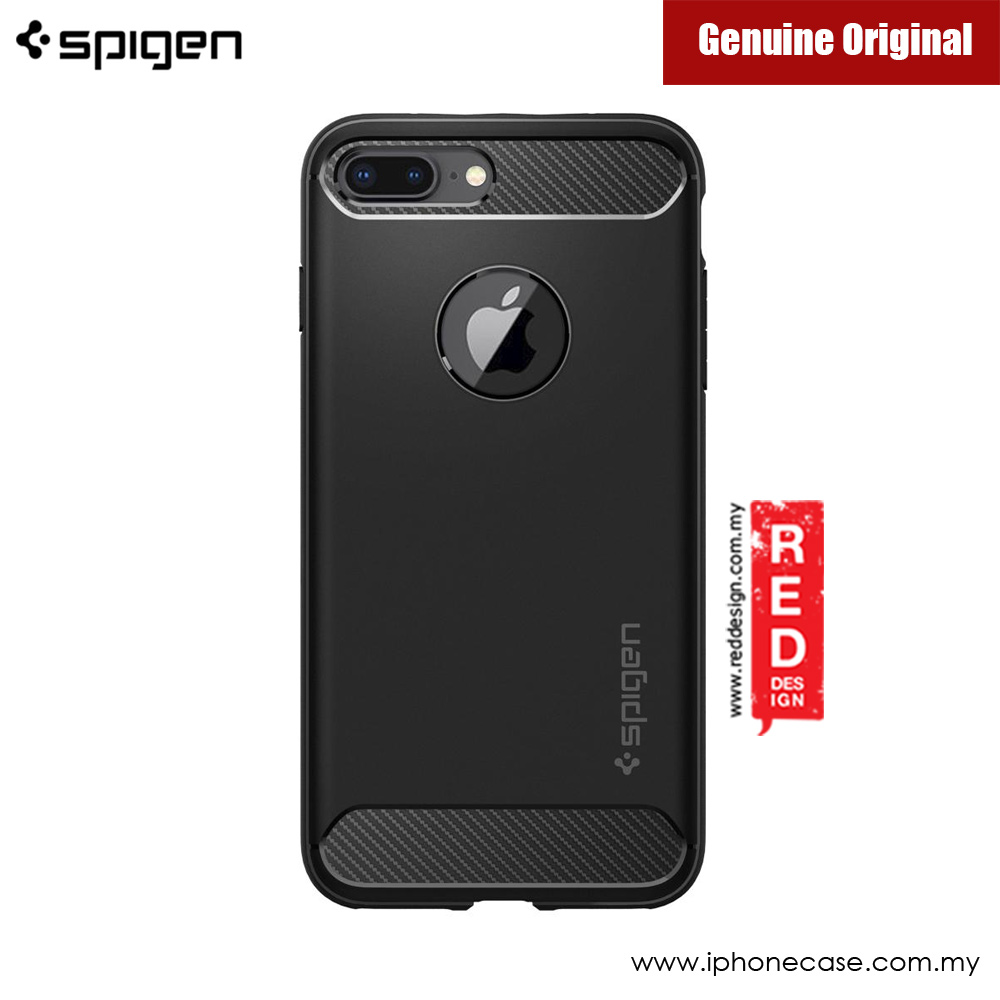 Picture of Apple iPhone 7 Plus 5.5 Case | Spigen Rugged Armor Military Grade Back Cover Case for Apple iPhone 7 Plus iPhone 8 Plus 5.5 - Black