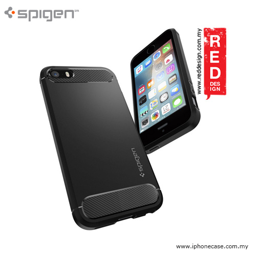 Picture Of Apple IPhone 5 Case   Spigen Rugged Armor Case For IPhone SE IPhone  5