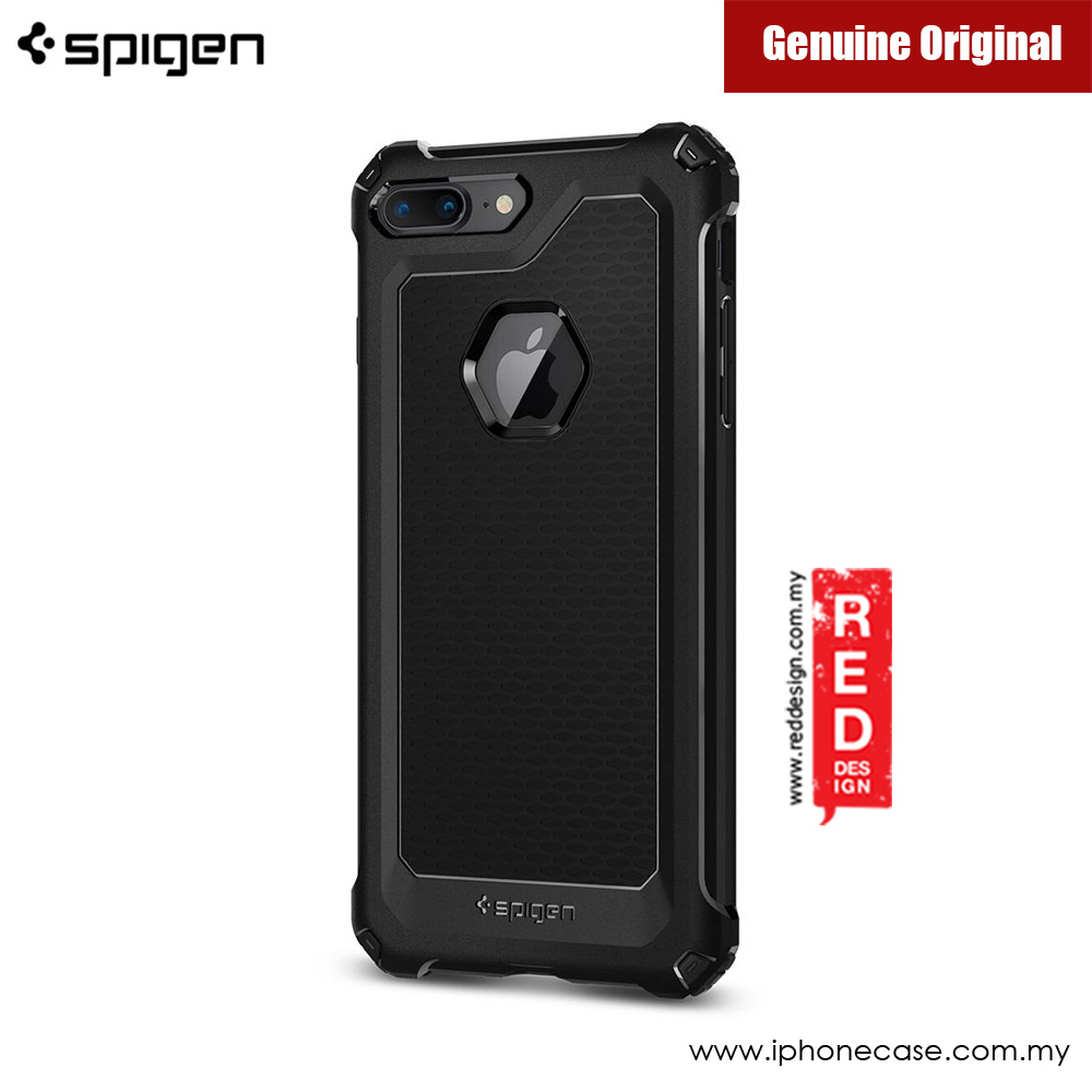 Picture of Apple iPhone 7 Plus 5.5 Case | Spigen Rugged Armor Extra Protection Case for Apple iPhone 7 Plus iPhone 8 Plus 5.5 (Black)