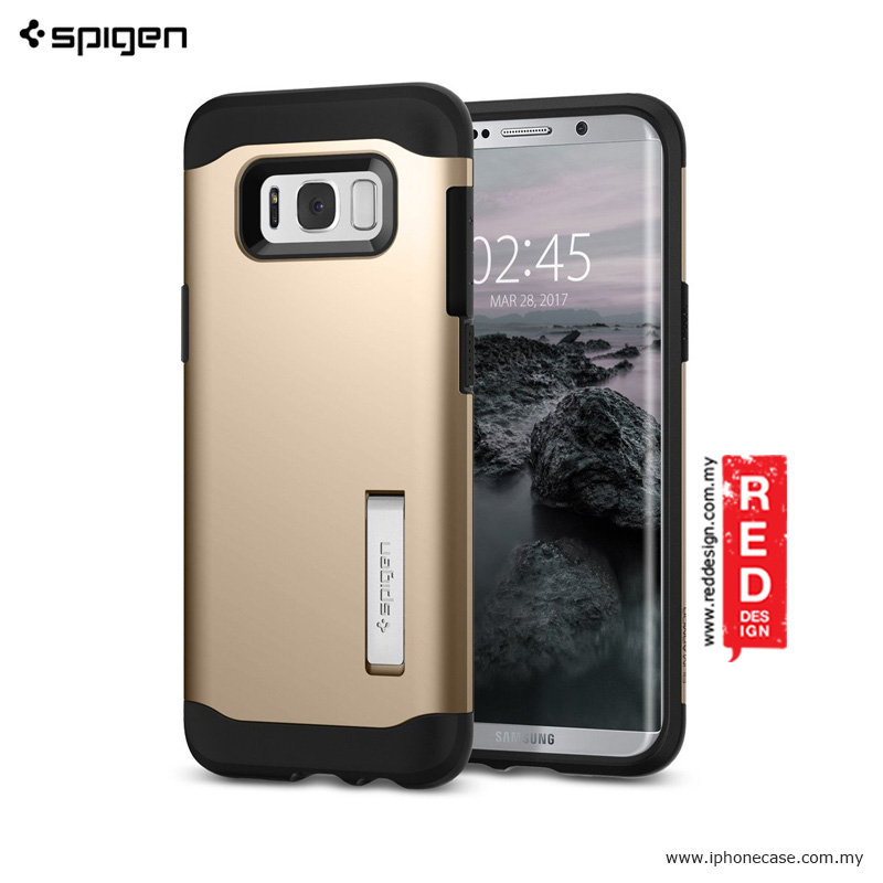 Picture of Spigen Slim Armor Protection Case for Samsung Galaxy S8 - Gold Maple Samsung Galaxy S8- Samsung Galaxy S8 Cases, Samsung Galaxy S8 Covers, iPad Cases and a wide selection of Samsung Galaxy S8 Accessories in Malaysia, Sabah, Sarawak and Singapore
