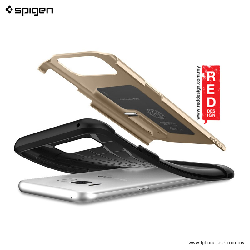 Picture of Spigen Slim Armor Protection Case for Samsung Galaxy S8 - Gold Maple Malaysia Singapore: Samsung Galaxy S8- Samsung Galaxy S8 Cases, Samsung Galaxy S8 Covers, iPad Cases and a wide selection of Samsung Galaxy S8 Accessories in Malaysia, Sabah, Sarawak and Singapore