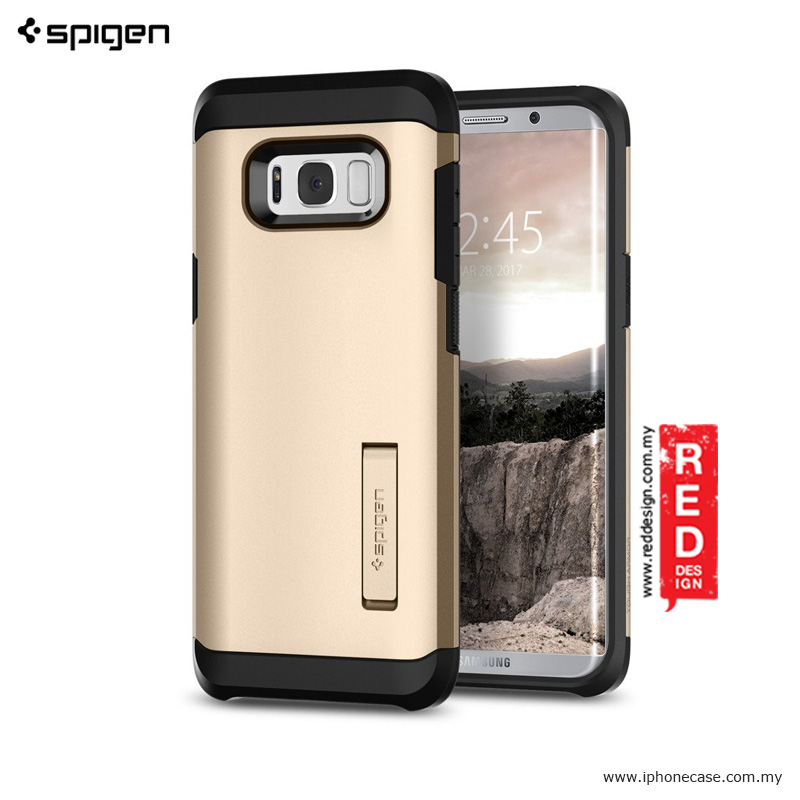 online store c8456 18c9e Spigen Tough Armor Protection Case for Samsung Galaxy S8 Plus - Gold Maple