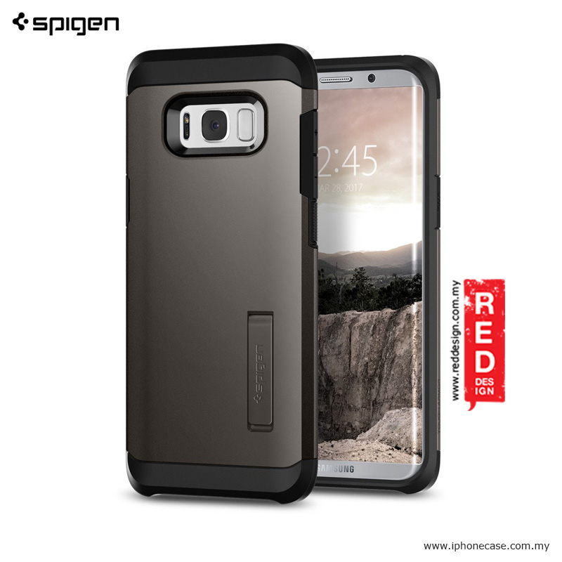 Picture of Spigen Tough Armor Protection Case for Samsung Galaxy S8 Plus - Gunmetal Samsung Galaxy S8 Plus- Samsung Galaxy S8 Plus Cases, Samsung Galaxy S8 Plus Covers, iPad Cases and a wide selection of Samsung Galaxy S8 Plus Accessories in Malaysia, Sabah, Sarawak and Singapore