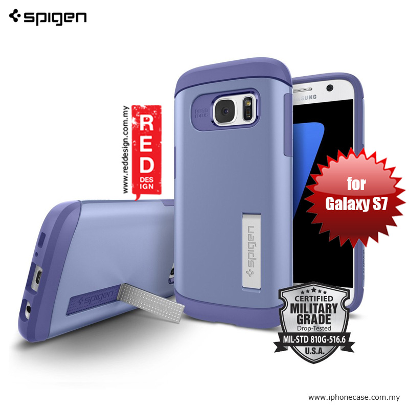 Picture of Spigen Slim Armor Protection Case for Galaxy S7 - Violet Samsung Galaxy S7- Samsung Galaxy S7 Cases, Samsung Galaxy S7 Covers, iPad Cases and a wide selection of Samsung Galaxy S7 Accessories in Malaysia, Sabah, Sarawak and Singapore