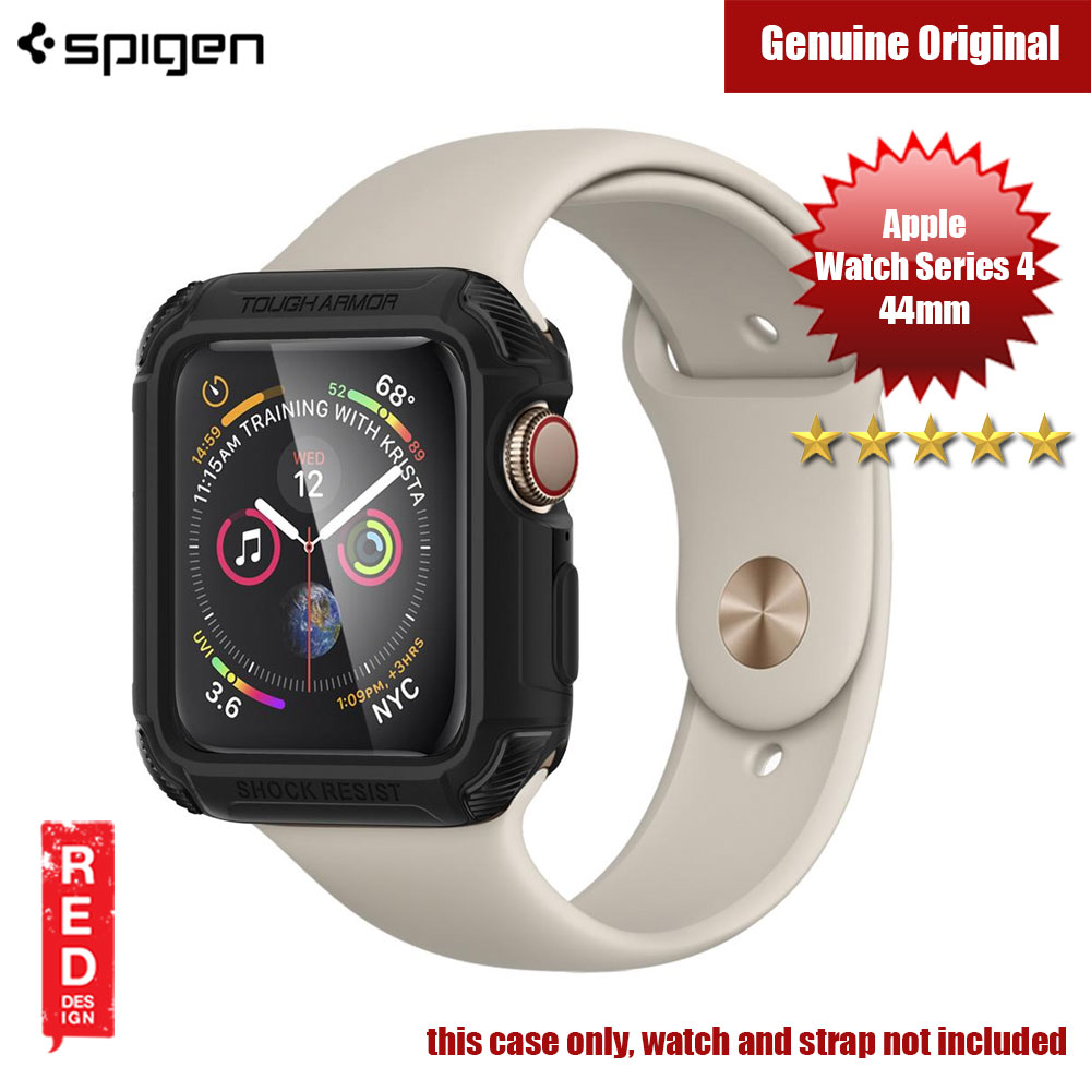 Picture of Spigen Tough Armor Case for Apple Watch Series 4 (44mm Black) Apple Watch 44mm- Apple Watch 44mm Cases, Apple Watch 44mm Covers, iPad Cases and a wide selection of Apple Watch 44mm Accessories in Malaysia, Sabah, Sarawak and Singapore