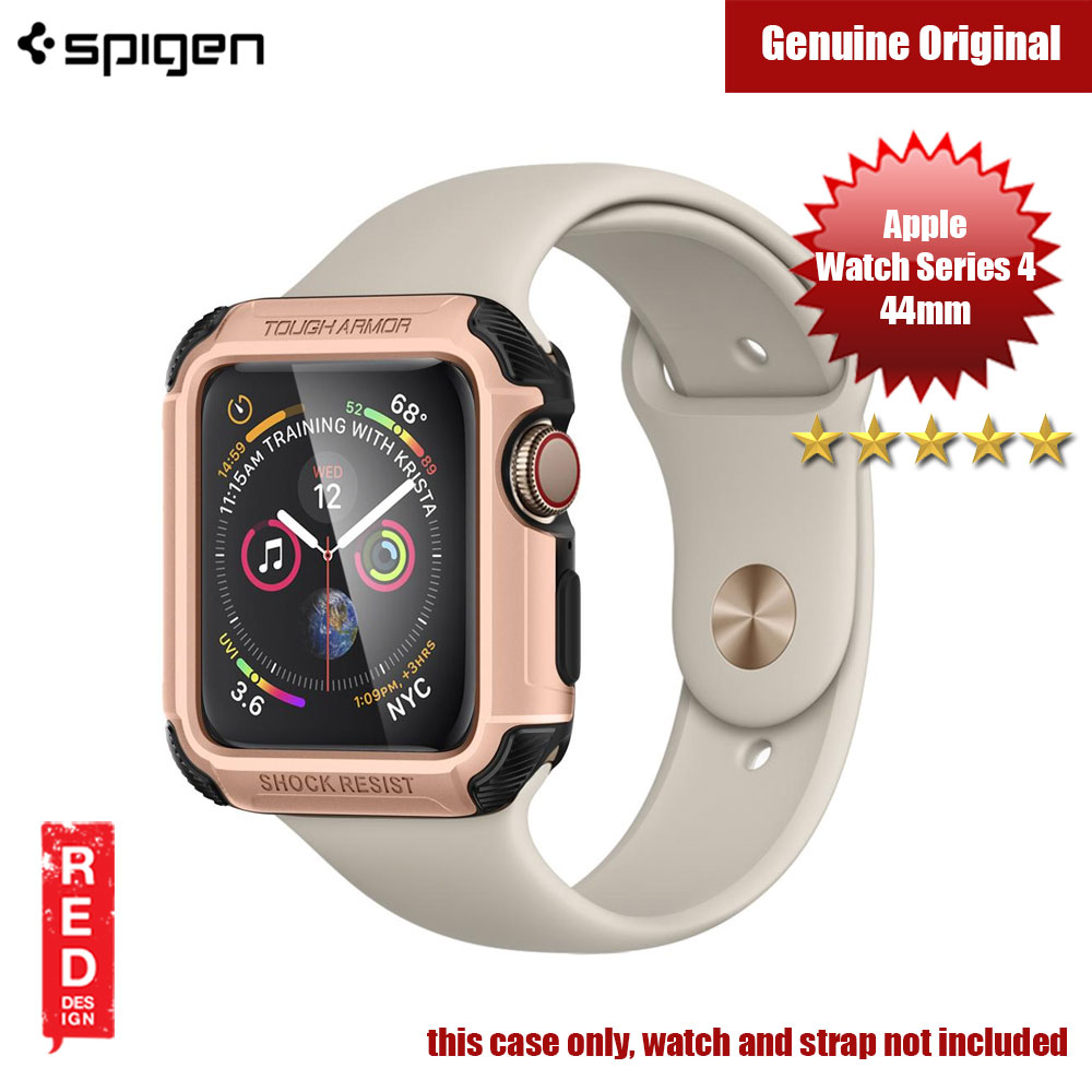 Picture of Spigen Tough Armor Case for Apple Watch Series 4 (44mm Rose Gold) Apple Watch 44mm- Apple Watch 44mm Cases, Apple Watch 44mm Covers, iPad Cases and a wide selection of Apple Watch 44mm Accessories in Malaysia, Sabah, Sarawak and Singapore