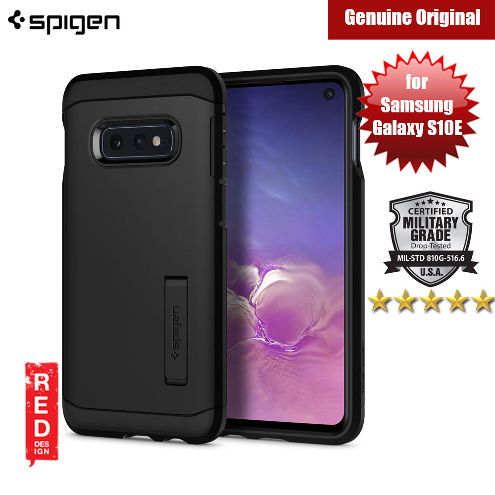Picture of Spigen Tough Armor Protection Case for Samsung Galaxy S10E (Black) Samsung Galaxy S10e- Samsung Galaxy S10e Cases, Samsung Galaxy S10e Covers, iPad Cases and a wide selection of Samsung Galaxy S10e Accessories in Malaysia, Sabah, Sarawak and Singapore