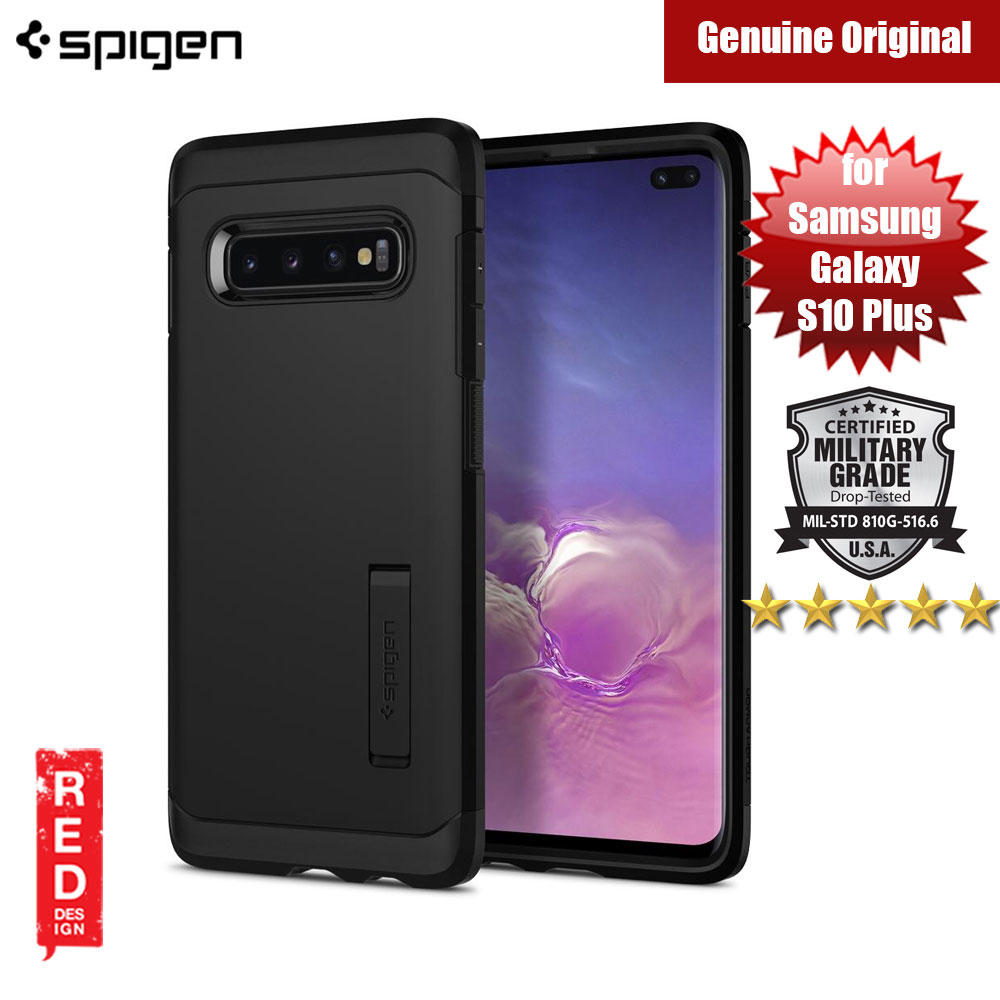 Picture of Spigen Tough Armor Protection Case for Samsung Galaxy S10 Plus (Black) Samsung Galaxy S10 Plus- Samsung Galaxy S10 Plus Cases, Samsung Galaxy S10 Plus Covers, iPad Cases and a wide selection of Samsung Galaxy S10 Plus Accessories in Malaysia, Sabah, Sarawak and Singapore