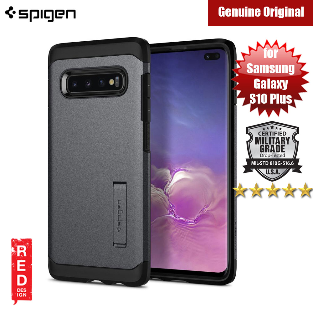 Picture of Spigen Tough Armor Protection Case for Samsung Galaxy S10 Plus (Graphite Grey) Samsung Galaxy S10 Plus- Samsung Galaxy S10 Plus Cases, Samsung Galaxy S10 Plus Covers, iPad Cases and a wide selection of Samsung Galaxy S10 Plus Accessories in Malaysia, Sabah, Sarawak and Singapore