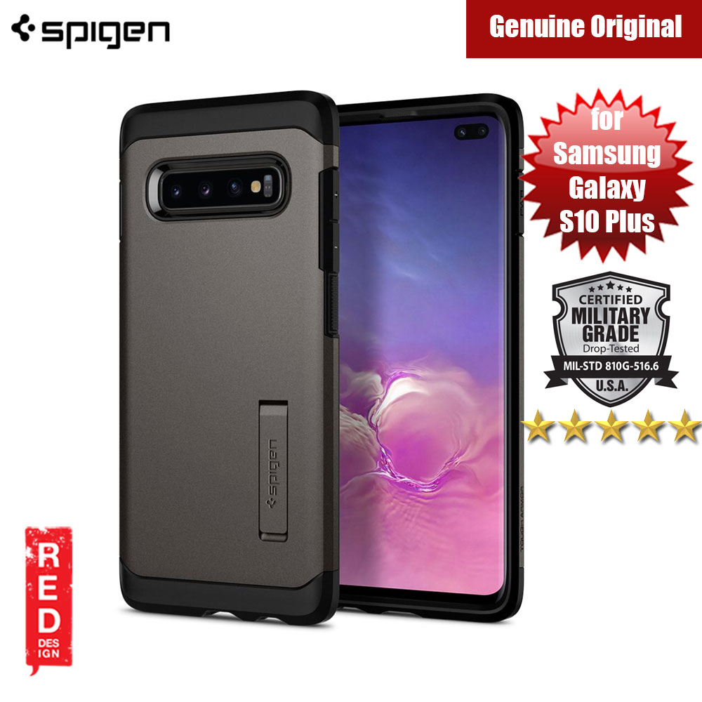 Picture of Spigen Tough Armor Protection Case for Samsung Galaxy S10 Plus (Gunmetal) Samsung Galaxy S10 Plus- Samsung Galaxy S10 Plus Cases, Samsung Galaxy S10 Plus Covers, iPad Cases and a wide selection of Samsung Galaxy S10 Plus Accessories in Malaysia, Sabah, Sarawak and Singapore
