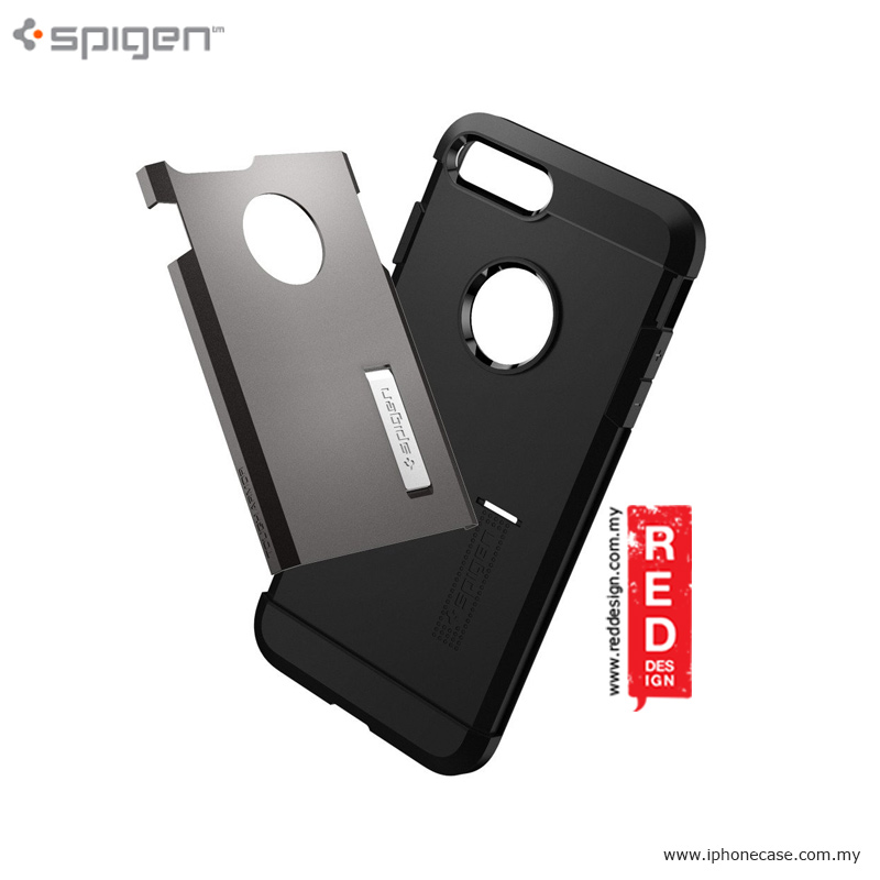 Picture of Spigen Tough Armor Drop Protection Case for Apple iPhone 7 Plus 5.5 - Gunmetal Malaysia Singapore: Apple iPhone 7 Plus 5.5- Apple iPhone 7 Plus 5.5 Cases, Apple iPhone 7 Plus 5.5 Covers, iPad Cases and a wide selection of Apple iPhone 7 Plus 5.5 Accessories in Malaysia, Sabah, Sarawak and Singapore