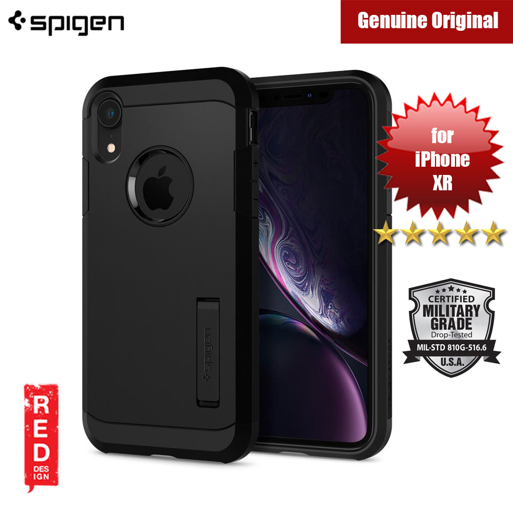 Picture of Spigen Tough Armor Protection Case for Apple iPhone XR (Black) Apple iPhone XR- Apple iPhone XR Cases, Apple iPhone XR Covers, iPad Cases and a wide selection of Apple iPhone XR Accessories in Malaysia, Sabah, Sarawak and Singapore