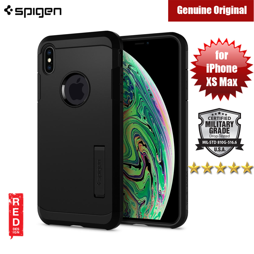 Picture of Spigen Tough Armor Protection Case for Apple iPhone XS Max (Black) Apple iPhone XS Max- Apple iPhone XS Max Cases, Apple iPhone XS Max Covers, iPad Cases and a wide selection of Apple iPhone XS Max Accessories in Malaysia, Sabah, Sarawak and Singapore