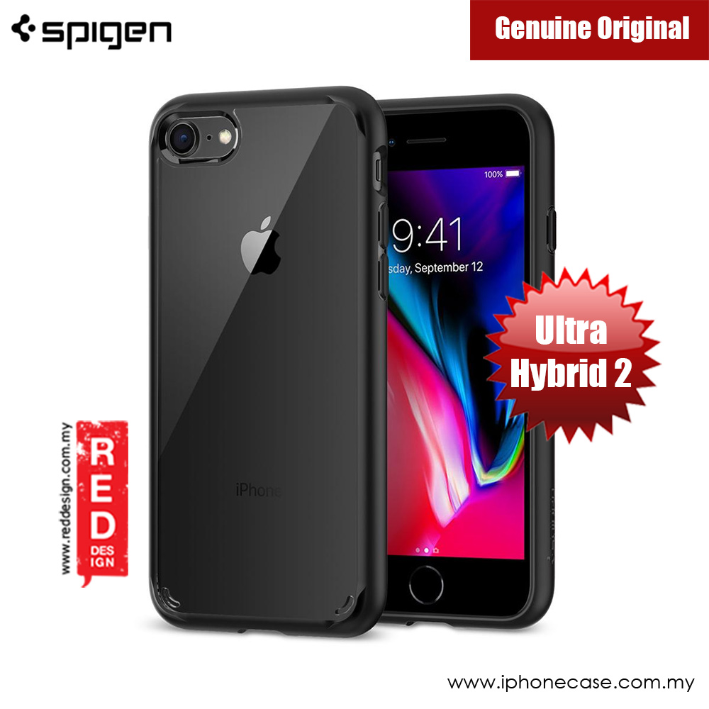 Picture of Spigen Ultra Hybrid 2 Protection Case for Apple iPhone 7 iPhone 8 4.7 iPhone SE 2020 (Black) Apple iPhone SE 2020- Apple iPhone SE 2020 Cases, Apple iPhone SE 2020 Covers, iPad Cases and a wide selection of Apple iPhone SE 2020 Accessories in Malaysia, Sabah, Sarawak and Singapore