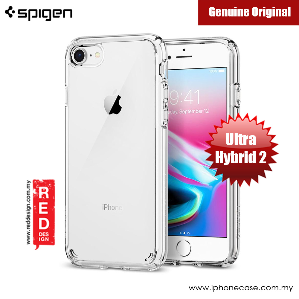 Picture of Spigen Ultra Hybrid 2 Protection Case for Apple iPhone 7 iPhone 8 4.7 iPhone SE 2020 (Crystal Clear) Apple iPhone SE 2020- Apple iPhone SE 2020 Cases, Apple iPhone SE 2020 Covers, iPad Cases and a wide selection of Apple iPhone SE 2020 Accessories in Malaysia, Sabah, Sarawak and Singapore