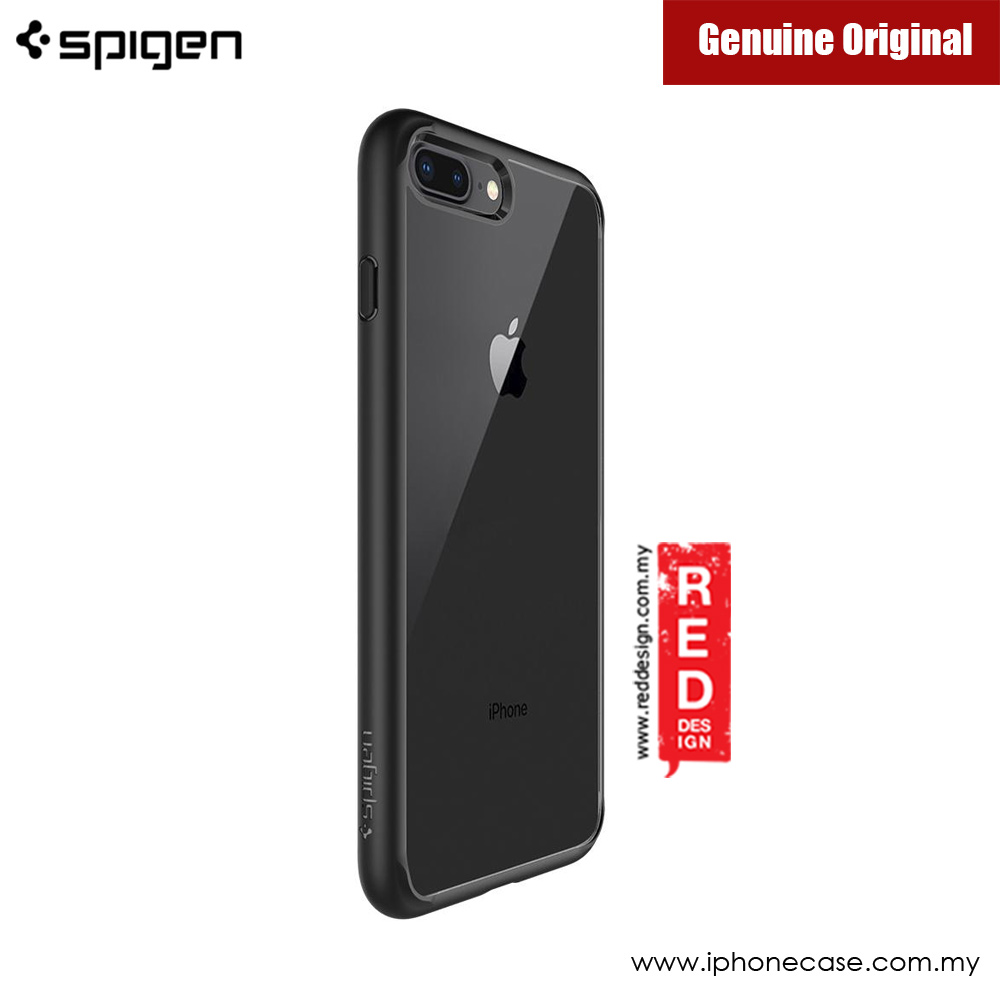 Picture of Apple iPhone 7 Plus 5.5 Case | Spigen Ultra Hybrid 2 Protection Case for Apple iPhone 7 Plus iPhone 8 Plus 5.5 (Black)