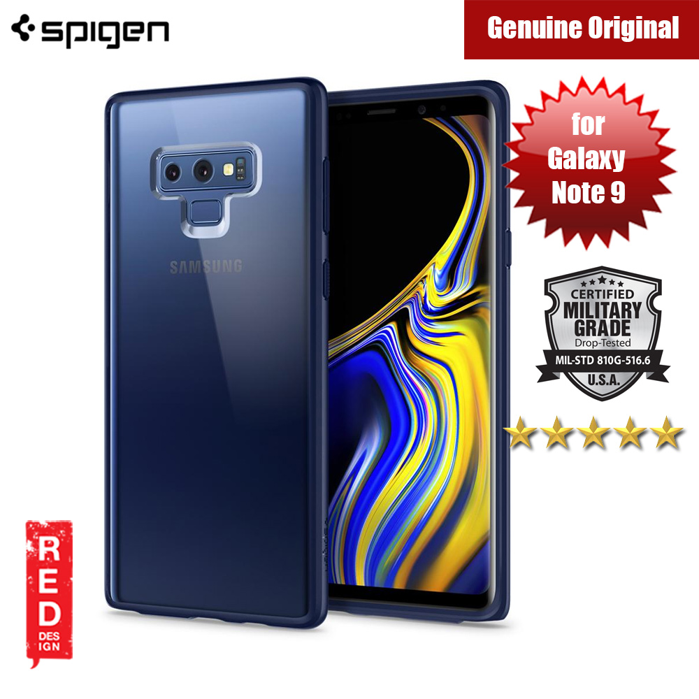 Picture of Spigen Ultra Hybrid  Case for Samsung Galaxy Note 9 (Ocean Blue) Samsung Galaxy Note 9- Samsung Galaxy Note 9 Cases, Samsung Galaxy Note 9 Covers, iPad Cases and a wide selection of Samsung Galaxy Note 9 Accessories in Malaysia, Sabah, Sarawak and Singapore