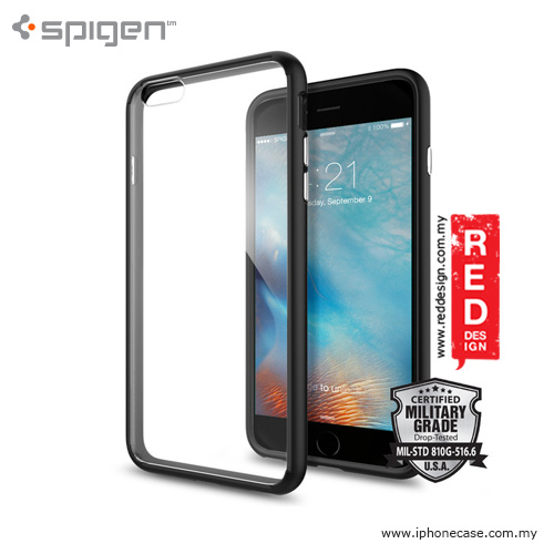 Picture of Spigen Ultra Hybrid Protection Case for iPhone 6 Plus 5.5 iPhone 6S Plus 5.5 - Black Apple iPhone 6S Plus 5.5- Apple iPhone 6S Plus 5.5 Cases, Apple iPhone 6S Plus 5.5 Covers, iPad Cases and a wide selection of Apple iPhone 6S Plus 5.5 Accessories in Malaysia, Sabah, Sarawak and Singapore