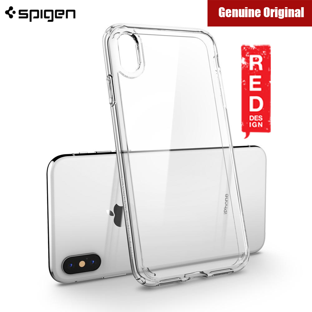 Picture of Spigen Ultra Hybrid Protection Case for Apple iPhone XS Max (Crystal Clear) Malaysia Singapore: Apple iPhone XS Max- Apple iPhone XS Max Cases, Apple iPhone XS Max Covers, iPad Cases and a wide selection of Apple iPhone XS Max Accessories in Malaysia, Sabah, Sarawak and Singapore