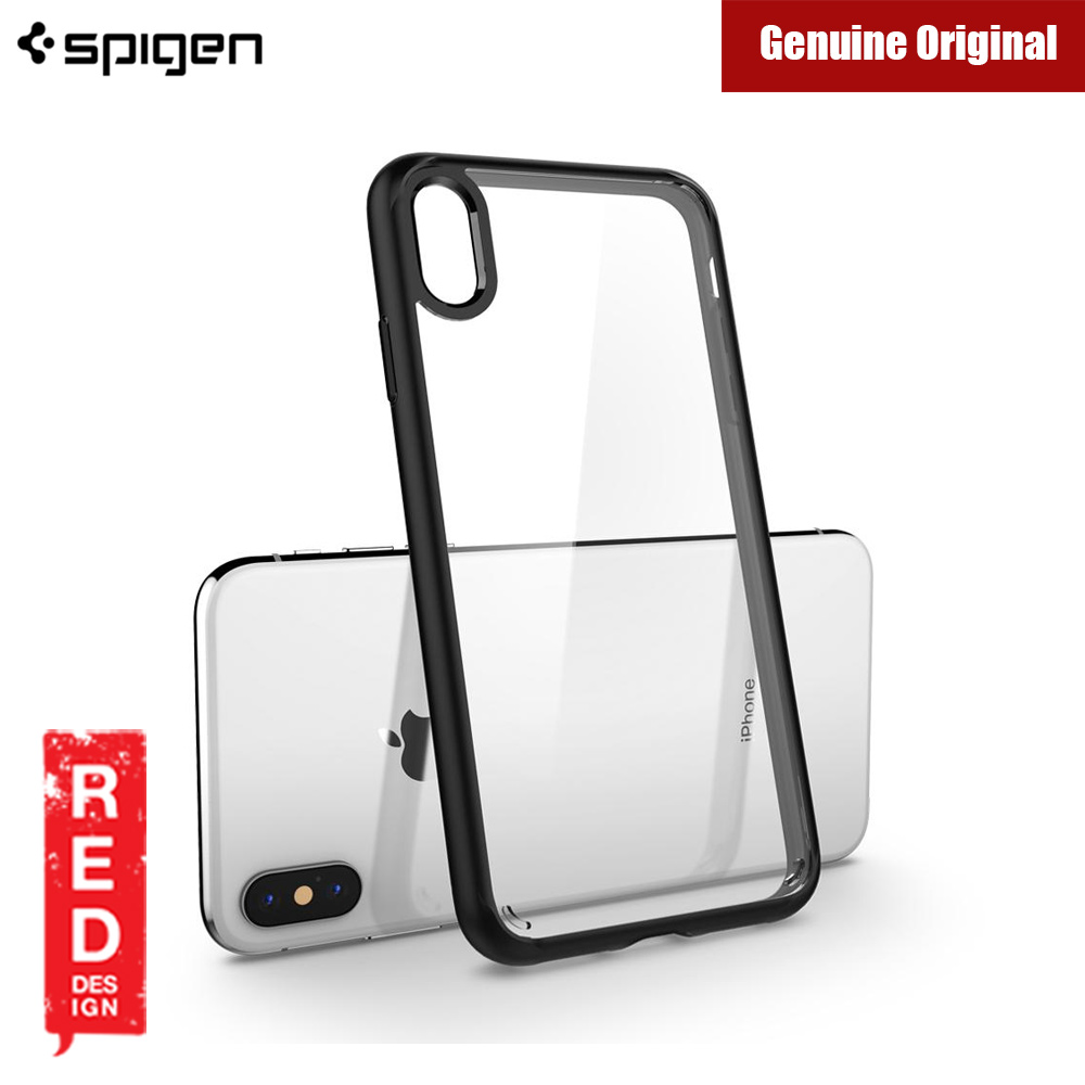 Picture of Spigen Ultra Hybrid Protection Case for Apple iPhone XS Max (Matte Black) Malaysia Singapore: Apple iPhone XS Max- Apple iPhone XS Max Cases, Apple iPhone XS Max Covers, iPad Cases and a wide selection of Apple iPhone XS Max Accessories in Malaysia, Sabah, Sarawak and Singapore