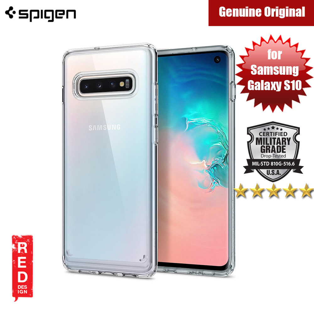 Picture of Spigen Ultra Hybrid Protection Case for Samsung Galaxy S10 (Crystal Clear) Samsung Galaxy S10- Samsung Galaxy S10 Cases, Samsung Galaxy S10 Covers, iPad Cases and a wide selection of Samsung Galaxy S10 Accessories in Malaysia, Sabah, Sarawak and Singapore