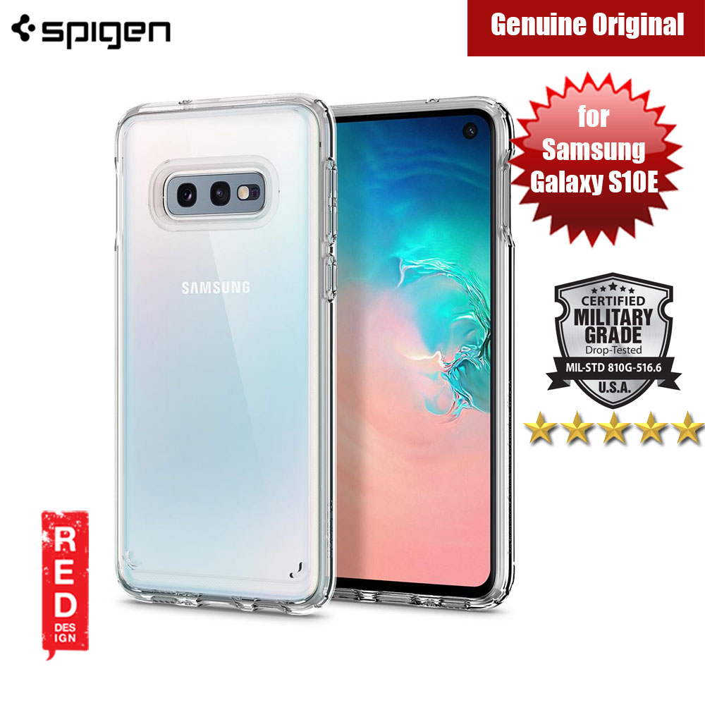Picture of Spigen Ultra Hybrid Protection Case for Samsung Galaxy S10E (Crystal Clear) Samsung Galaxy S10e- Samsung Galaxy S10e Cases, Samsung Galaxy S10e Covers, iPad Cases and a wide selection of Samsung Galaxy S10e Accessories in Malaysia, Sabah, Sarawak and Singapore