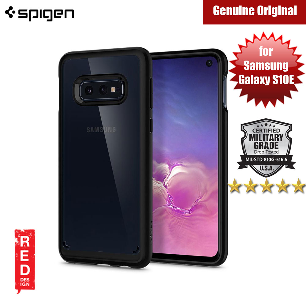 Picture of Spigen Ultra Hybrid Protection Case for Samsung Galaxy S10E (Matte Black) Samsung Galaxy S10e- Samsung Galaxy S10e Cases, Samsung Galaxy S10e Covers, iPad Cases and a wide selection of Samsung Galaxy S10e Accessories in Malaysia, Sabah, Sarawak and Singapore