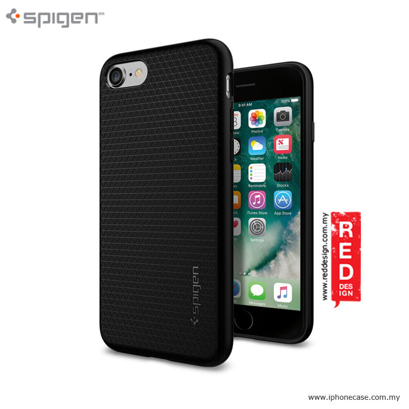 Picture of Spigen Liquid Armor Protection Case for iPhone 7 4.7 - Black Malaysia Singapore: Apple iPhone 7 4.7- Apple iPhone 7 4.7 Cases, Apple iPhone 7 4.7 Covers, iPad Cases and a wide selection of Apple iPhone 7 4.7 Accessories in Malaysia, Sabah, Sarawak and Singapore