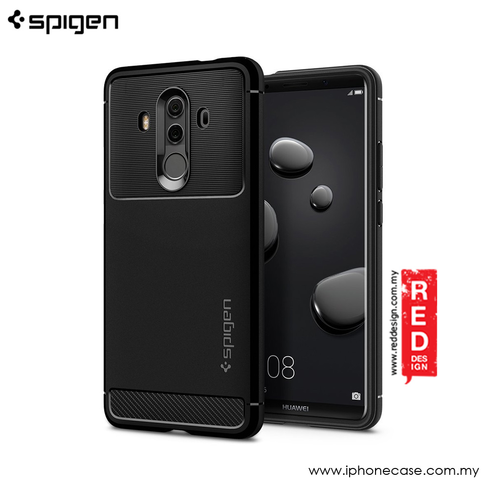 Picture of Spigen Rugged Armor Protection Case for Huawei Mate 10 Pro (Black) Huawei Mate 10 Pro- Huawei Mate 10 Pro Cases, Huawei Mate 10 Pro Covers, iPad Cases and a wide selection of Huawei Mate 10 Pro Accessories in Malaysia, Sabah, Sarawak and Singapore