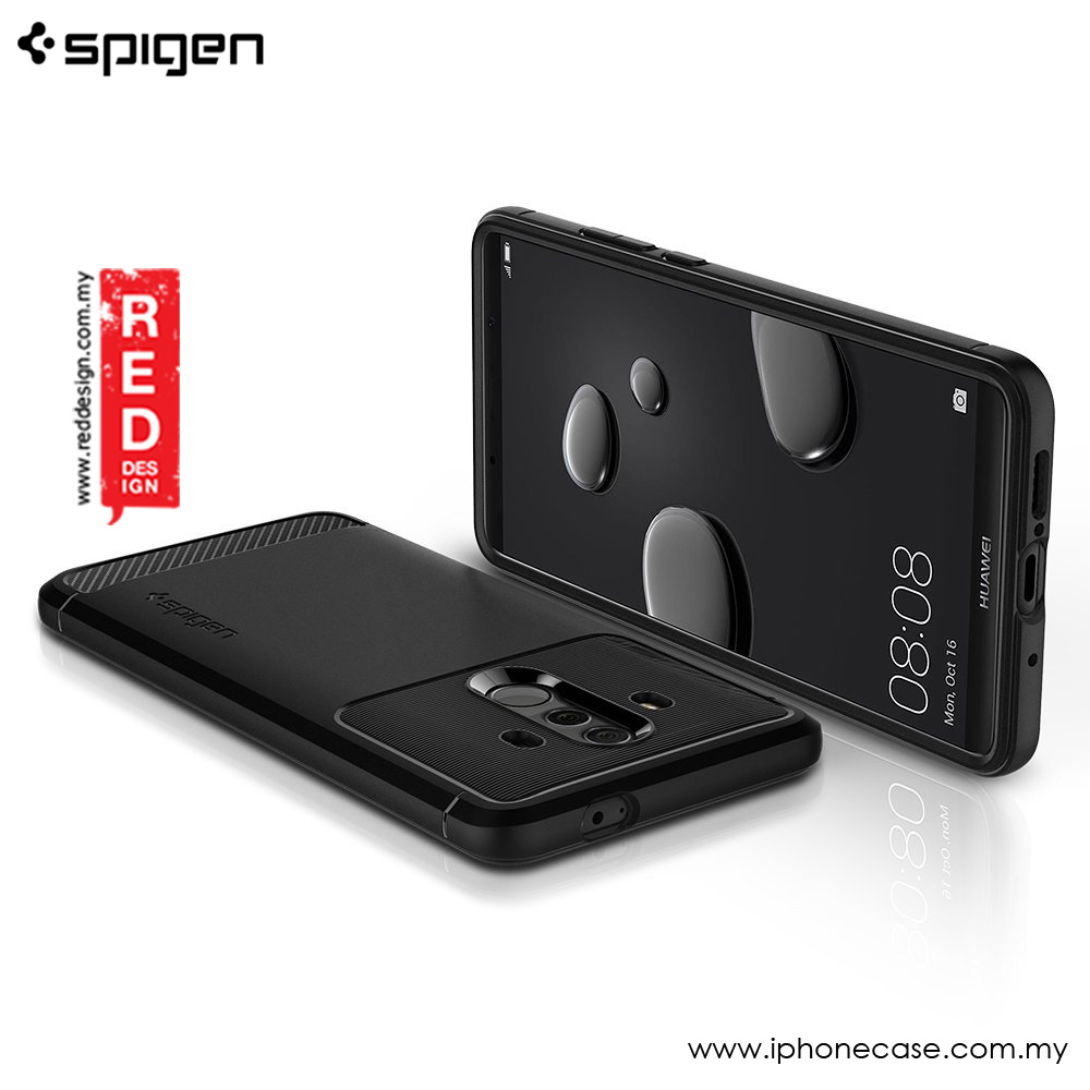 Picture of Huawei Mate 10 Pro Case | Spigen Rugged Armor Protection Case for Huawei Mate 10 Pro (Black)