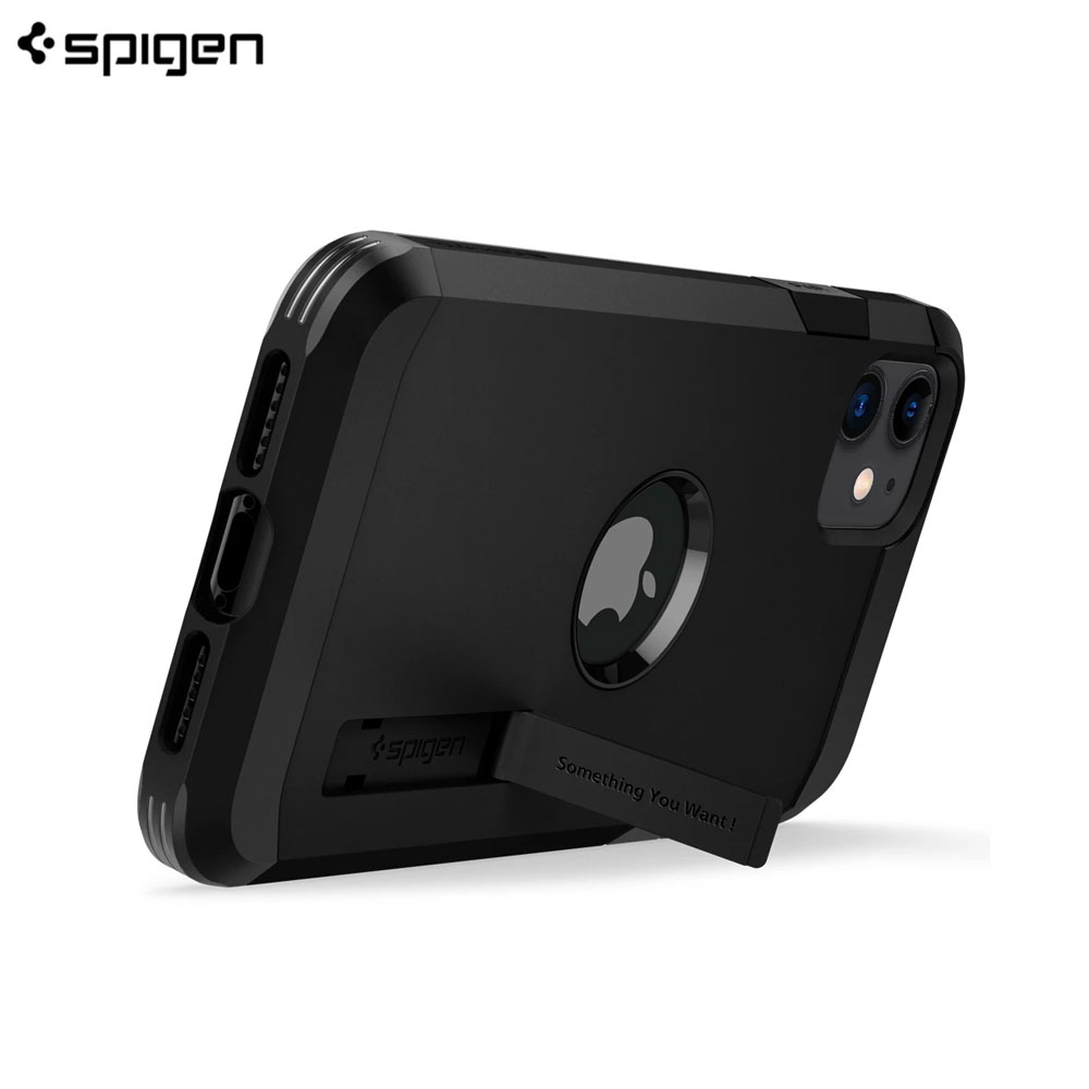 Picture of Apple iPhone 11 6.1 Case | Spigen Tough Armor XP Drop Protection Case for Apple iPhone 11 6.1 (Black)