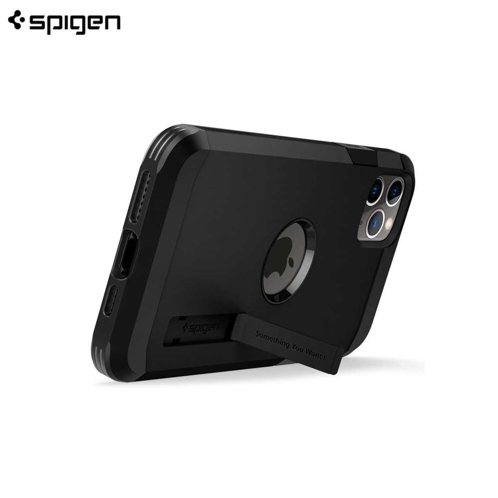 Picture of Apple iPhone 11 Pro Max 6.5 Case | Spigen Tough Armor XP Drop Protection Case for Apple iPhone 11 Pro Max 6.5 (Black)